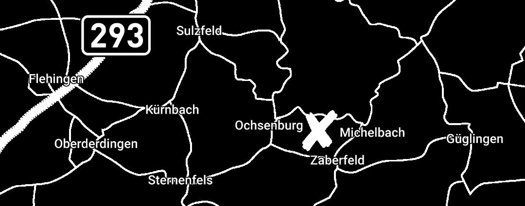 Standortkarte Zabergäu Angus
